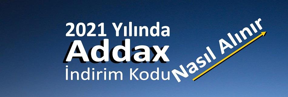 2021 Yılında Addax İndirim Kodu Nasıl Alınır